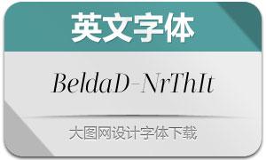 BeldaDidone-NrThIt(英文字体)