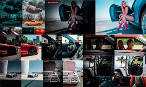 5款汽車照片電影主題效果LR預設