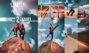 5款旅行照片后期藝術效果LR預設