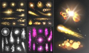 光源光效設計元素主題矢量素材集V52