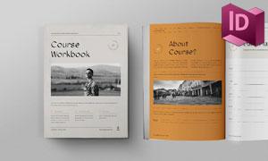 网络研讨会等画册版式设计模板素材