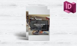简约风格公司介绍画册版式模板素材