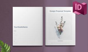 项目提案等多用途画册版式模板素材