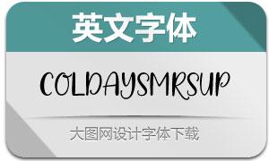ColdaysMemoriesUp(英文字体)