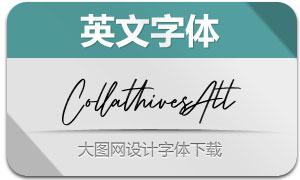 CollathivesAlt(英文字体)