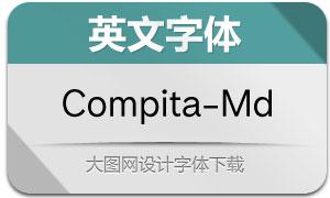 Compita-Medium(英文字体)