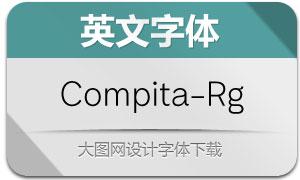 Compita-Regular(英文字体)