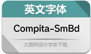 Compita-SemiBold(英文字体)