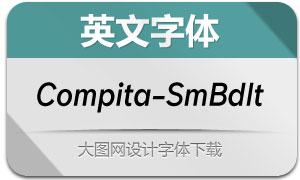 Compita-SemiBoldItalic(英文字体)