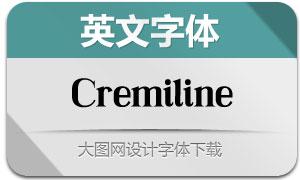 Cremiline(英文字体)