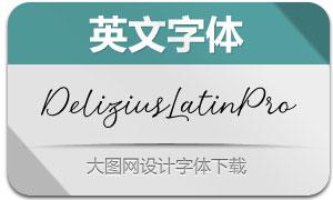DeliziusScriptLatinPro(英文字体)