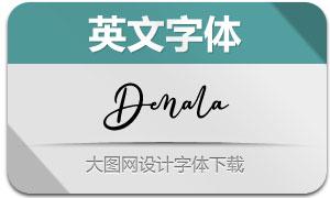 Denala(英文字体)