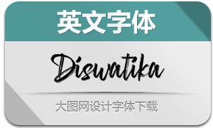 Diswatika(英文字体)