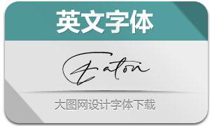 Eaton(英文字体)