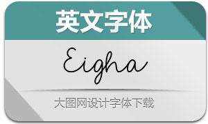Eigha(英文字体)