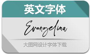 Evangelina(英文字体)