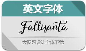 Fallisanta(英文字体)