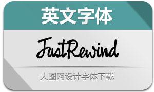 FastRewind(英文字体)