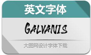 Galvanis(英文字体)