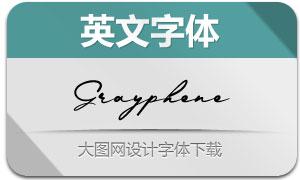 Grayphene( 英文字体)