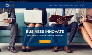 多種行業企業公司網站模板設計素材