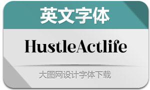 HustleActlife(英文字体)