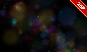夢幻唯美光斑元素圖層疊加素材集V34