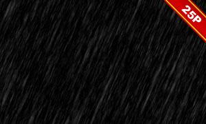 下雨情景后期合成適用疊加素材集V08