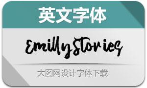 EmillyStories(英文字體)