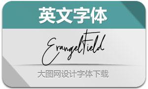 ErangelField(英文字體)