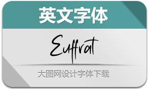 Euffrat(英文字體)