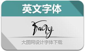 Fairy(英文字體)
