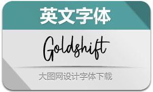 Goldshift(英文字體)