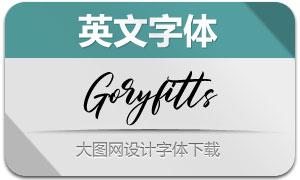 Goryfitts(英文字體)