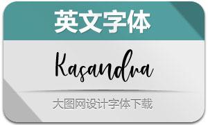 Kasandra(英文字體)