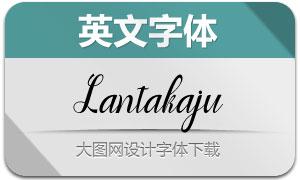Lantakaju(英文字體)