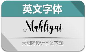 Mahligai(英文字體)