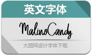 MalinoCandy(英文字體)