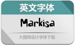 Markisa(英文字體)