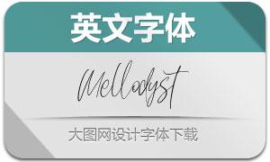 Mellodyst(英文字體)