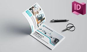 公司宣傳畫冊圖文版式設計模板素材