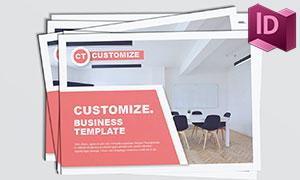 應用廣泛的雜志畫冊版式模板源文件
