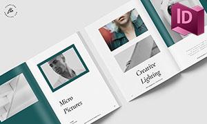 攝影作品集雜志畫冊版式設計源文件
