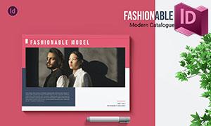 時尚攝影等適用的畫冊版式設計模板
