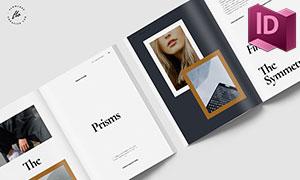 攝影等類型適用的畫冊排版設計模板