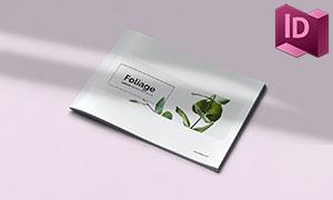 植物品類名錄圖冊版式設計模板素材