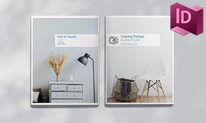 家具產品展示圖冊版式設計模板素材