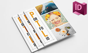 作品集展示畫冊圖文排版模板源文件