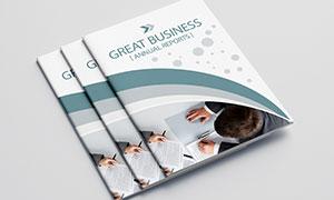 公司企業畫冊版式設計模板源文件V01