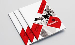 公司企業畫冊版式設計模板源文件V02